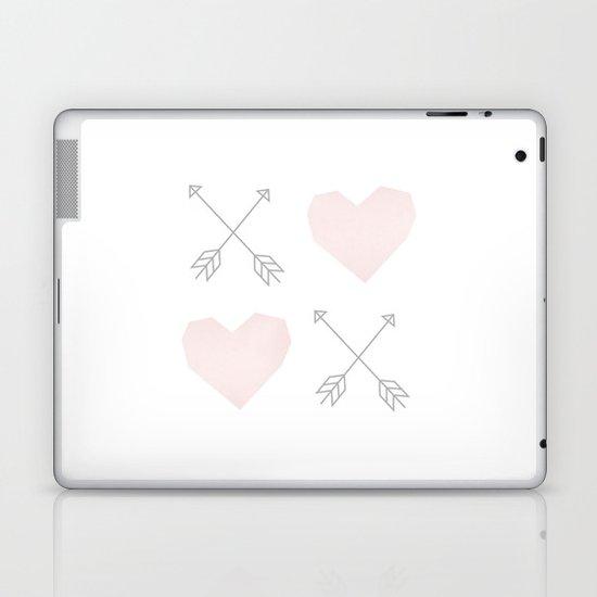 X (Heart) X (Heart) Laptop & iPad Skin