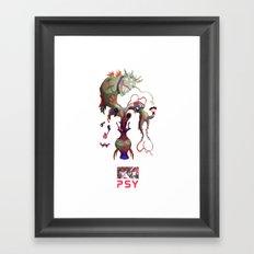 P S - Y Framed Art Print