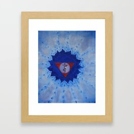 VISHUDDHA Framed Art Print