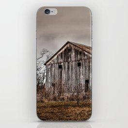 Weathered Barn iPhone Skin