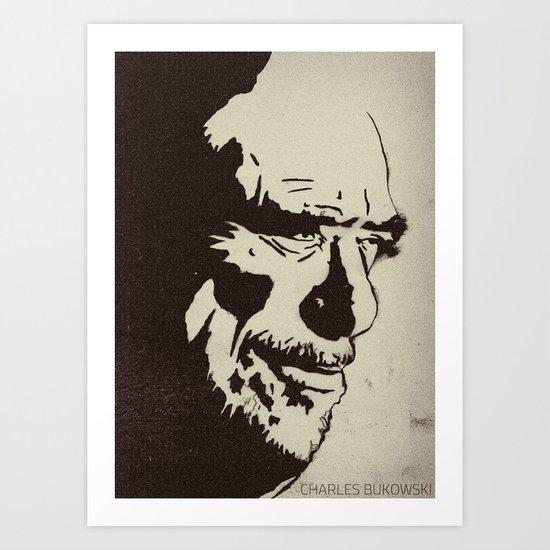 Charles Bukowski Art Print