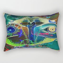 The wisdom of the life is always deeper than the wisdom of the men Rectangular Pillow