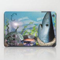 Deep sea iPad Case