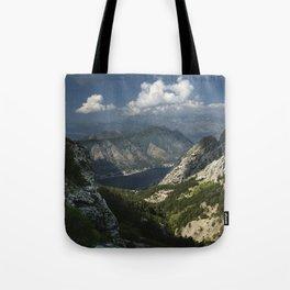 Kotor Bay in Montenegro Tote Bag