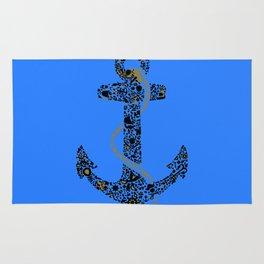 Anchor logo Rug