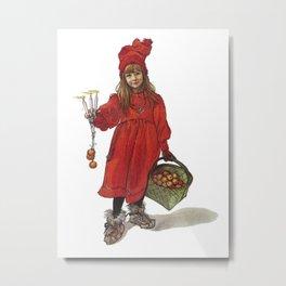 Iduna and Her Magic Apples Metal Print