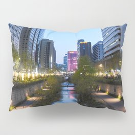 Stream at night Pillow Sham