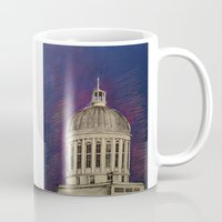 montreal Mugs featuring Montreal by Shazia Ahmad