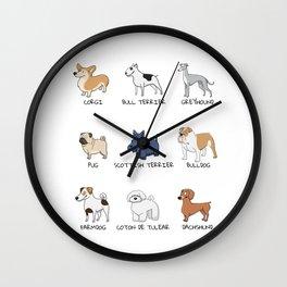 Doggos Wall Clock