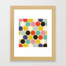 chelsea spot cream Framed Art Print