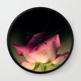 Rose Pink Wall Clock