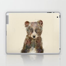 little brown bear Laptop & iPad Skin