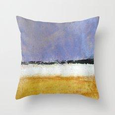 Mark Rothko Interpretation Acrylics On Paper Throw Pillow
