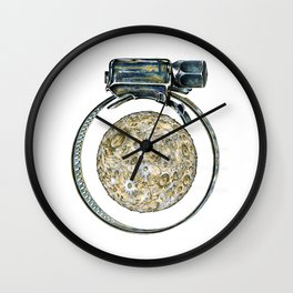 This is not a clamp. Just my imagination. Wall Clock