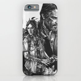 The Last Of Us Part II - Ellie and Joel iPhone Case