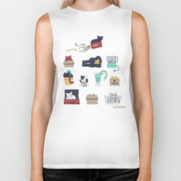 Contain Yourself Biker Tank