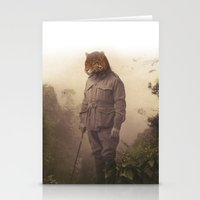 jungle Stationery Cards featuring Jungle Jaguar by Chase Kunz