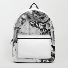 Black and White Half Faced Bighorn Sheep Backpack