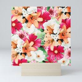 Flowers Potpourri two Mini Art Print
