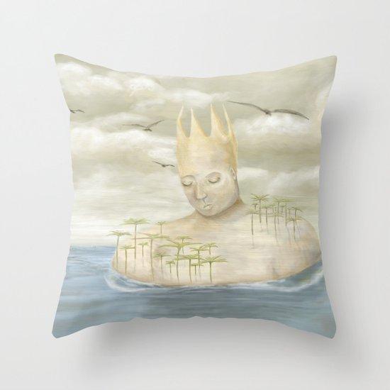 Island King Throw Pillow
