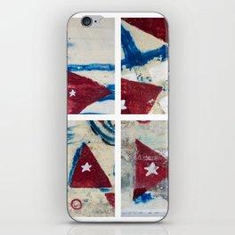Bandera Cubana iPhone Skin