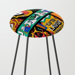 Try to laugh about it Counter Stool