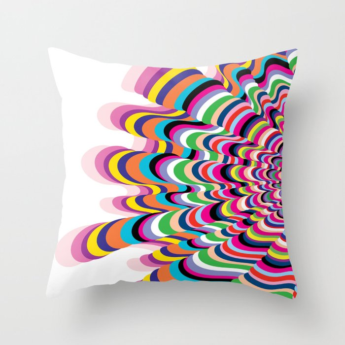 Abyss No. 2 Throw Pillow