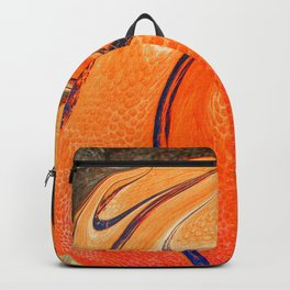 Modern basketball art Backpack