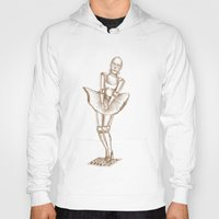 c3po Hoodies featuring C3PO Monroe by ronnie mcneil