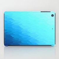 turquoise iPad Cases featuring Turquoise by SimplyChic
