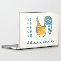 swedish Laptop & iPad Skins featuring Swedish Hen by Chet and Dot