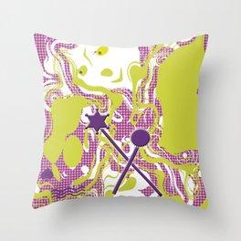 Joke royal Throw Pillow