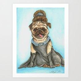 Audrey Pugburn Art Print