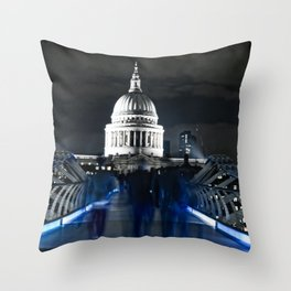 Ghosts of St Paul's Throw Pillow