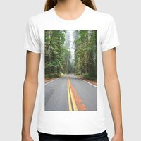 giants T-shirts featuring Avenue Of The Giants by Kim Ramage