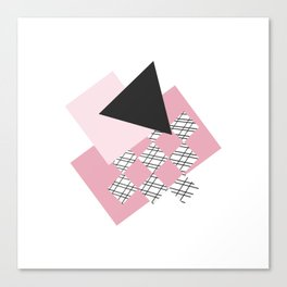 Pink - Abstract Canvas Print