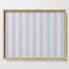Candy stripe Serving Tray