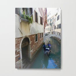 Gondola Ride Metal Print