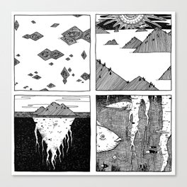 Patera Canvas Print