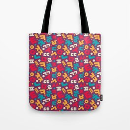 Korean alphabet pattern Tote Bag