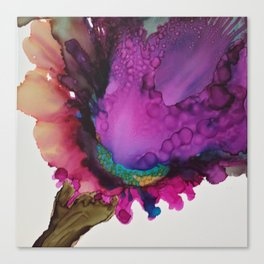 Iris Spray Canvas Print