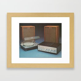 Vintage Speakers 1 Framed Art Print