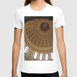 The rotunda of the Capitol building in Madison, Wisconsin T-shirt