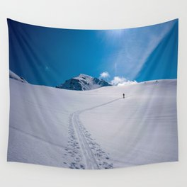 Ski Tour Iceland Wall Tapestry