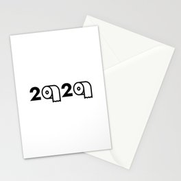 2020 Toilet Paper Shortage Meme Stationery Cards