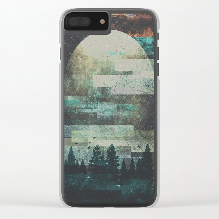 Children of the moon Clear iPhone Case