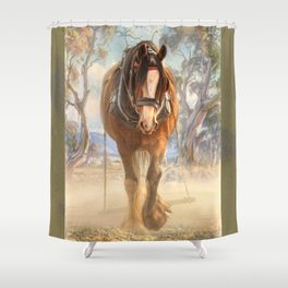 The Clydesdale Shower Curtain
