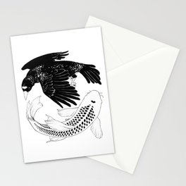 A Bird May Love a Fish Stationery Cards