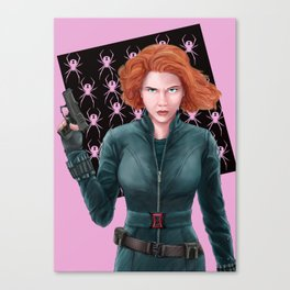 Widow Canvas Print