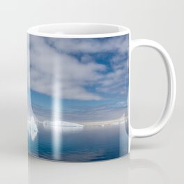 Floating ice in Antarctica Coffee Mug